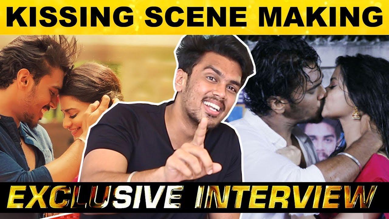 Download Utraan Movie Kissing Scene Making - Roshan Udhayakumar Reveals Secrets | Kalakkal CInema | HD
