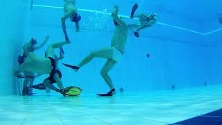 Underwater Rugby Training in Turku 2018 09 17