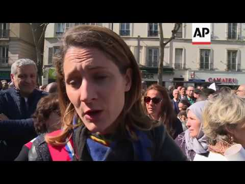 Muslims protest mosque closure in France