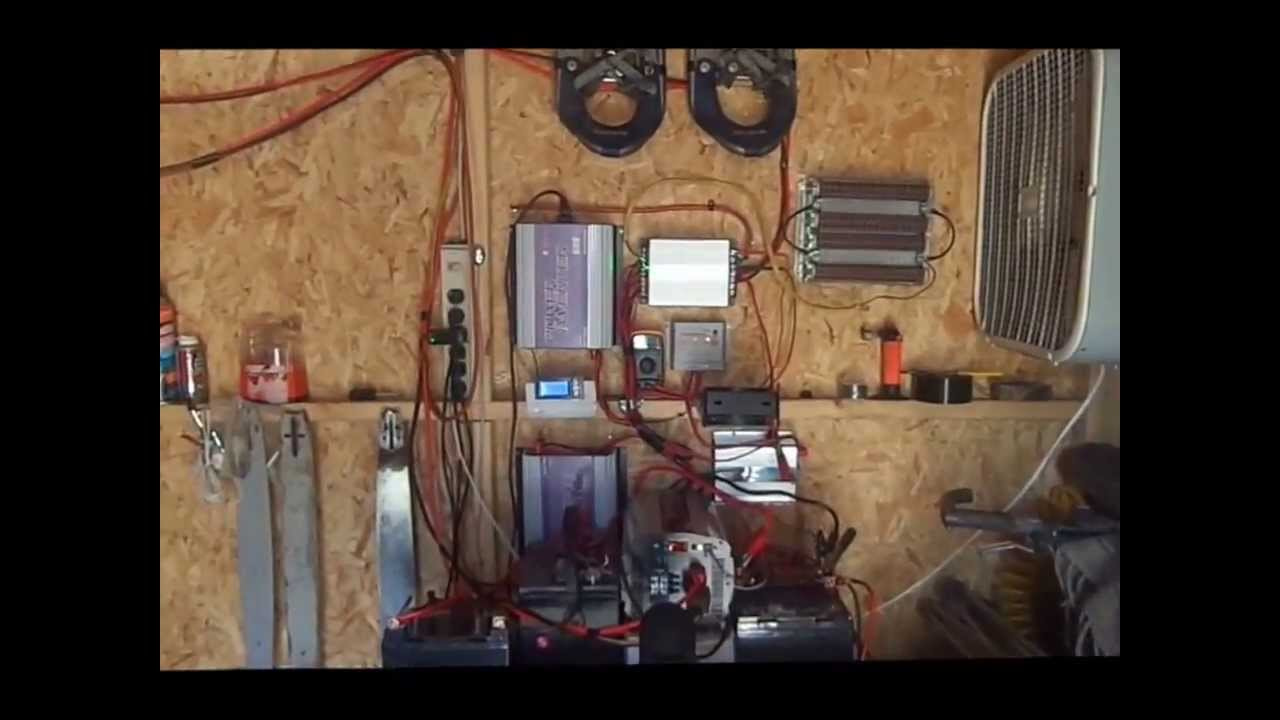 How To Install A Diy Home Hybrid Wind Solar And Wood Alternative Do Turbines Generate Electricity Video Energy Powers Power System Go Green Youtube