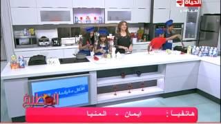 صدور الدجاج المشوية مع صوص المشروم - الشيف آيه حسني