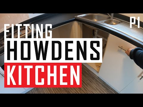 Project: Fitting Howdens Kitchen, Part 1 (of 3)