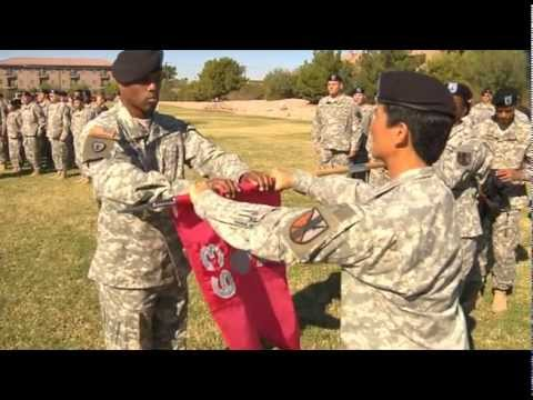 63rd Brigade Support Battalion Activation Ceremony on Nellis Air Force Base