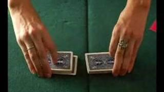 How to Be a Blackjack Dealer : How to Shuffle Cards for Blackjack