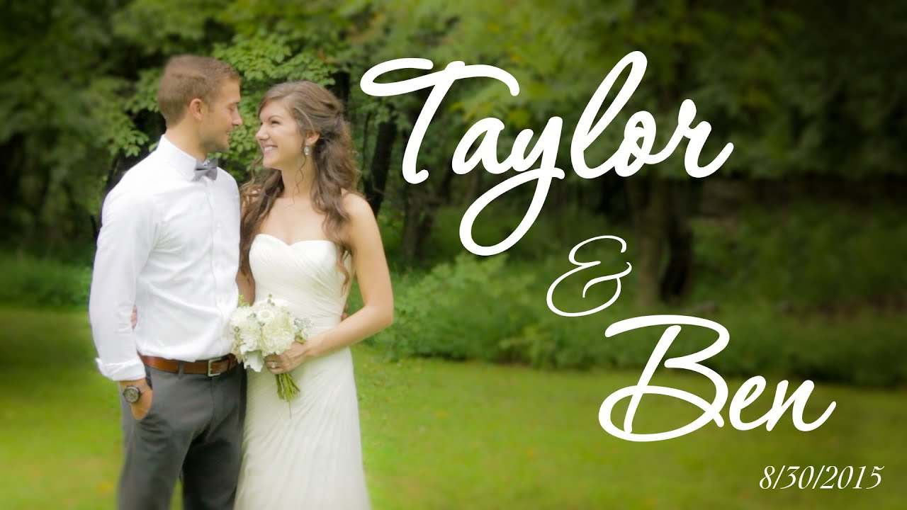 ben and yvonne wedding highlights youtube taylor ben