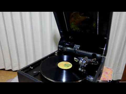 ひばりの花売娘 Hibari no hanauri-musume 美空ひばり Hibari Misora 鷲の蓄音機 Eagle phonograph