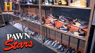 Chum's Killer Deal for *$1,000,000* NIKE SNEAKERS | Pawn Stars (Season 7) | History