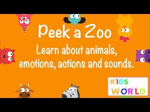 Duck Duck Moose, Peek a Zoo and Learning English, Best Apps Demo for Kids