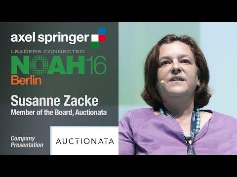 Susanne Zacke, Auctionata - Axel Springer NOAH16 Berlin