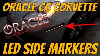 Oracle LED Sidemarkers Unboxing, Review & Installation on C6 Corvette
