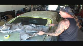 Muscle Car Restoration-1969 Chevelle SS-Mig Weld And Grind