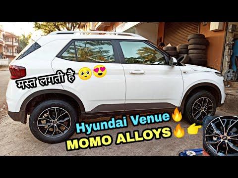 Hyundai VENUE Brand New MOMO🔥 MASSIMO ALLOYS 🥺💯💯 First Hyundai Venue with MOMO Alloys