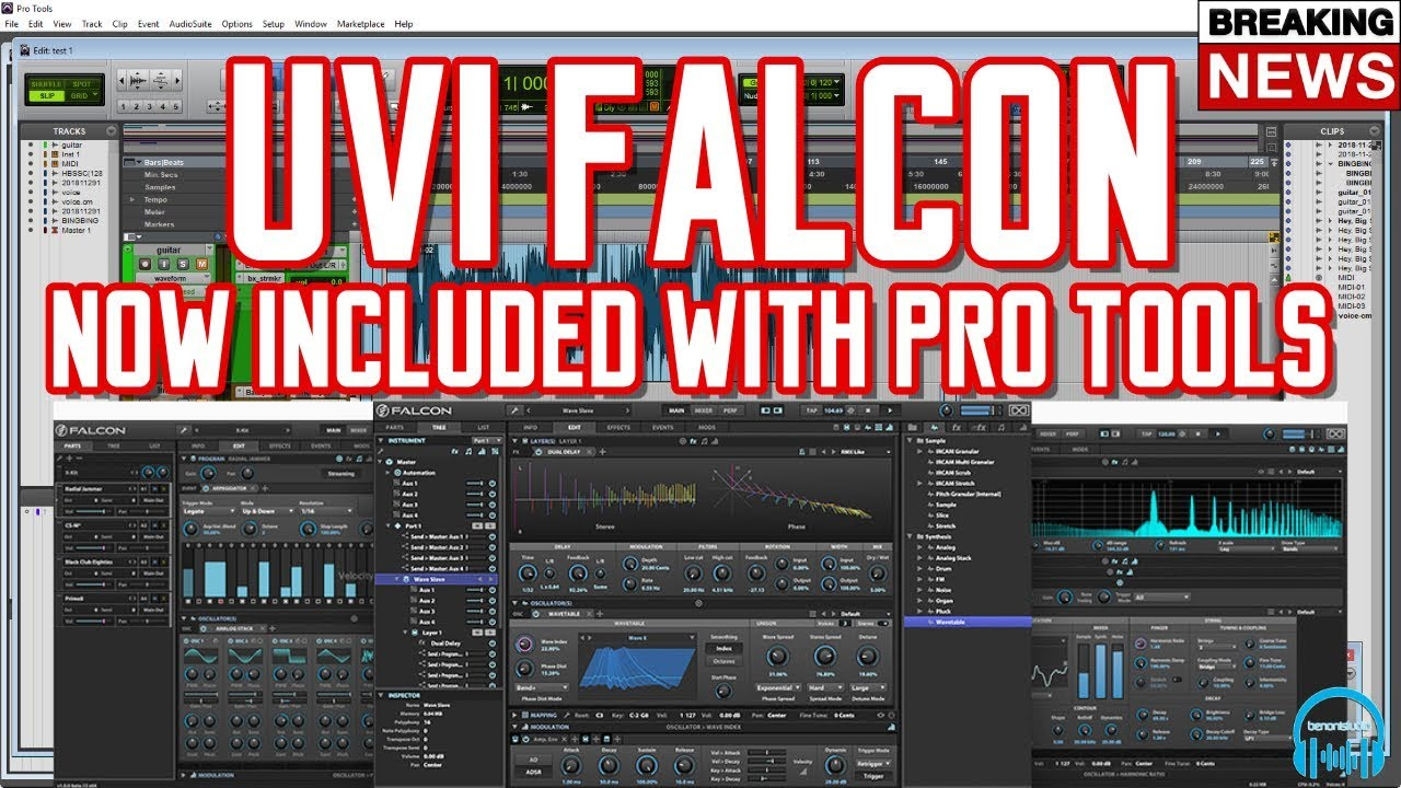 BREAKING NEWS | Pro Tools Now Includes UVI FALCON for FREE 👍