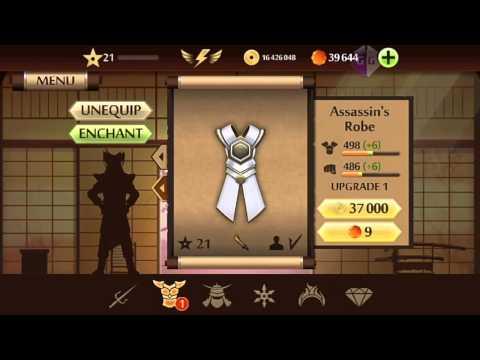 Обзор Shadow Fight 2 (мод много денег)