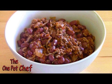 Chilli Con Carne | One Pot Chef