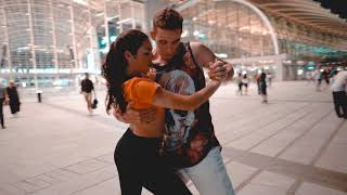Bruno Galhardo & Raiza Zouk in Singapore - Safe Place (DJ Kakah) - Zouk dance video