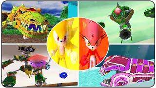 Sonic Rush Adventure - All Bosses (S Rank)