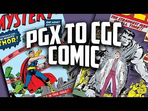 From PGX to CGC - Hulk #1 & Journey into Mystery #83 Comic Deal