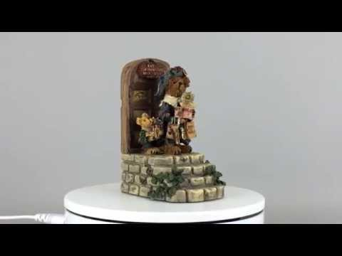 Boyds Bear Born to Shop Musical Figurine