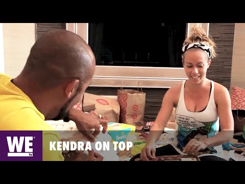 Kendra On Top | Deleted Scene: DIY Sexy Diaper Cake | WE tv