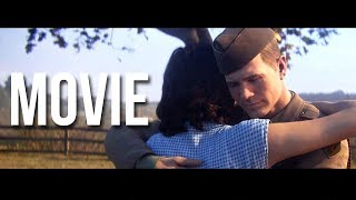 Call of Duty WWII: The Movie (All Campaign Cutscenes)