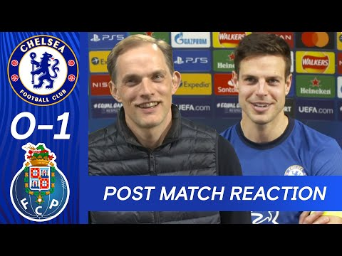 Tuchel & Azpilicueta React To Making The Champions League Semi-Final | Chelsea 0-1 FC Porto