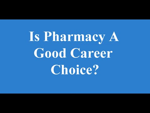 Is pharmacy a good career choice? from YouTube · Duration:  2 minutes 31 seconds