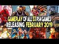 All 33 New PS4 Games in February 2019 (Upcoming Games 2019)