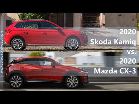 2020 Skoda Kamiq Vs 2020 Mazda CX-3 (technical Comparison)