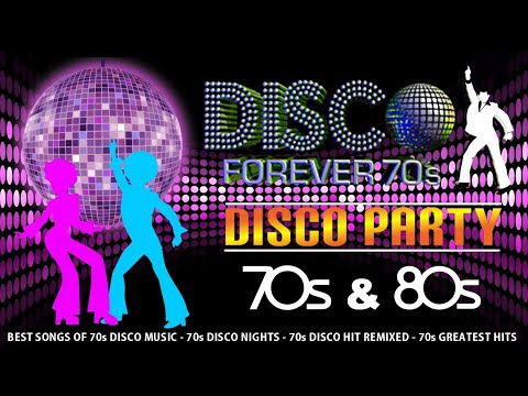 70s, 80s Disco Greatest Hits  70s, 80s Disco Party Mix