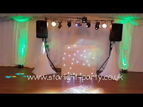 Wedding Disco with starlight party
