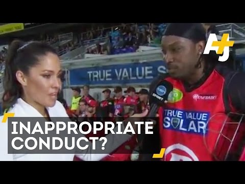 Cricket Player Chris Gayle In Trouble For Comment To Journalist