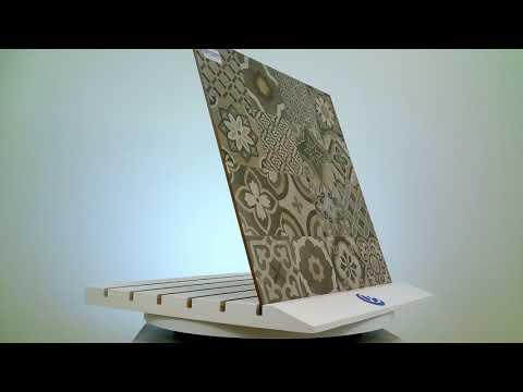 Piastrella in stile antico Gres Porcellanato puro -  Pavimento / Rivestimento cementine 60 x 60 cm.