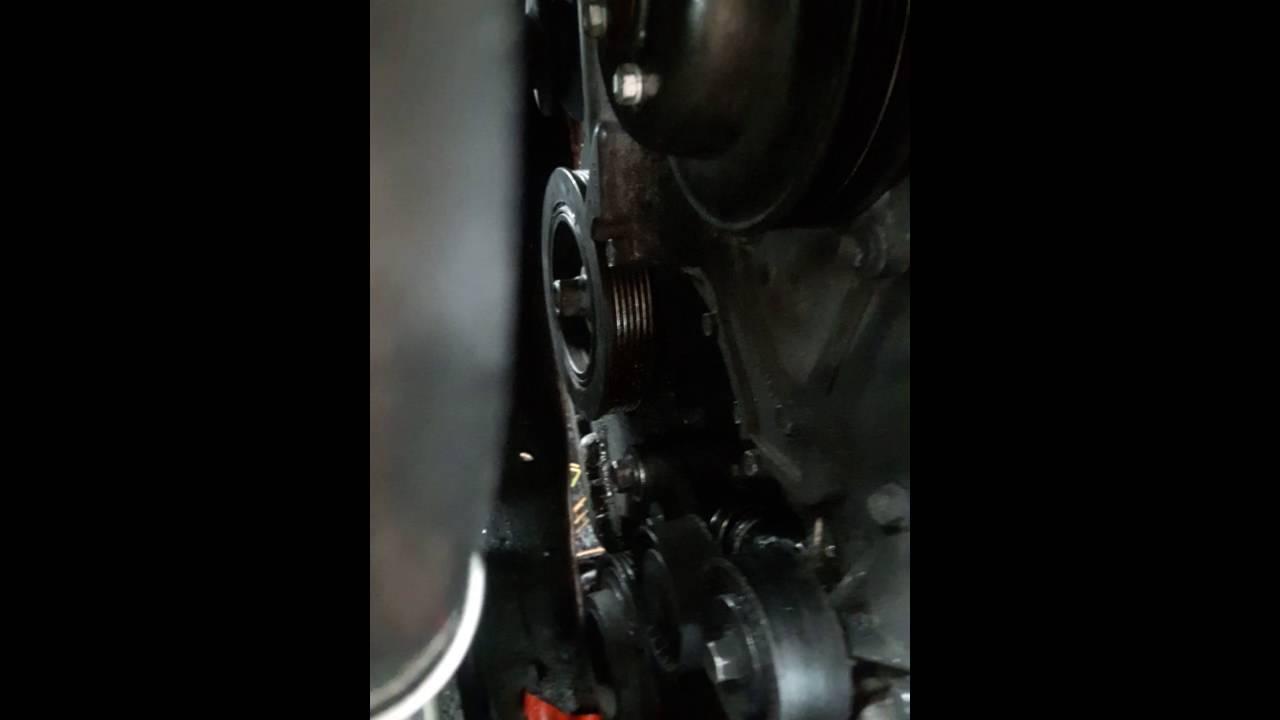 2006 kia sedona belt tensioner replacement