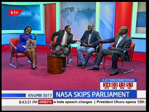 NASA elected leaders snub President Uhuru Kenyatta's Parliamentary opening ceremony: Choice 2017
