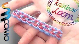 Repeat youtube video Rainbow Loom - Pulseira Escama de Dragão ( Com Quatro Lápis )