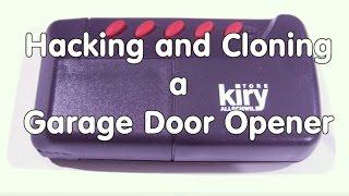 44 hacking and cloning a garage door opener using sdr radio