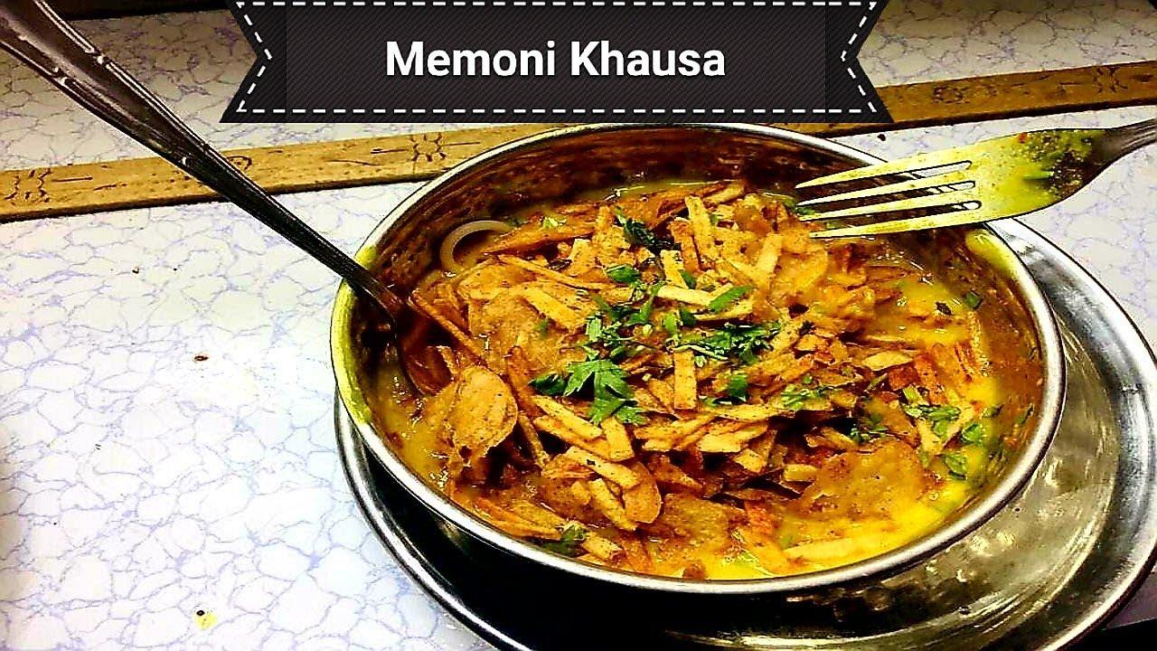 Memoni Dish Khausa | Memoni Khausa | Street Food of Karachi Pakistan - YouTube
