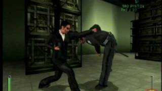 Enter the Matrix ps2 gameplay