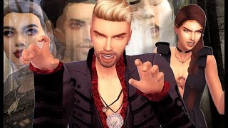 BIRTH TO DEATH | GIFTED TWIN VAMPIRES REVAMPED | THE SIMS 4