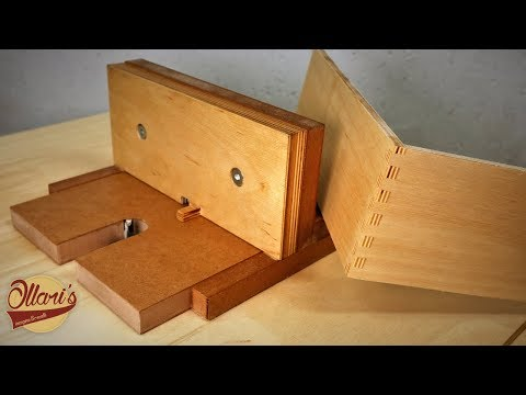 Simple Box Joint Jig for the Router Table