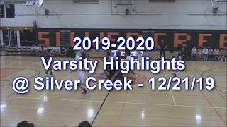 2019-2020 LHS Basketball Highlights - Varsity vs Silver Creek