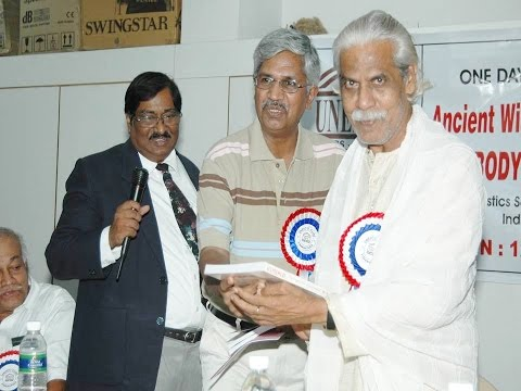 "Dr. Alagar Ramanujam Talks on ""God of Sankara and Gravity of Vethathiri"""