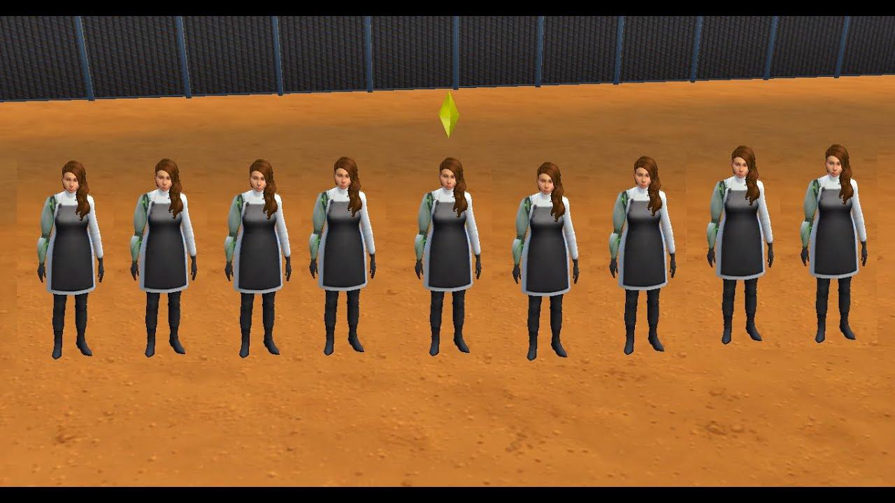 sims 4 clone machine