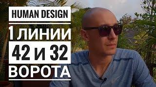 Скачать Дизайн Человека 42 и 32 ворота 1 линии Даниил Трофимов Human Design