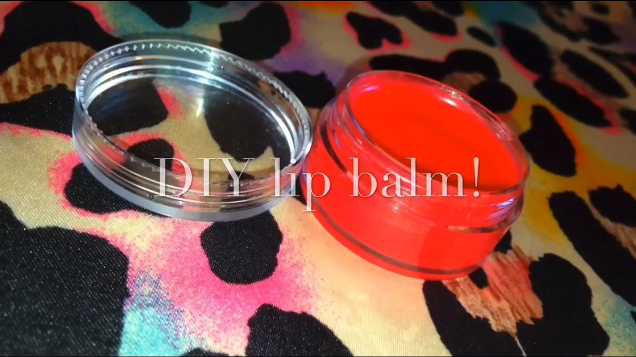 Diy Lip Balm Without Beeswax You