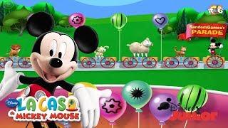 La Casa de Mickey Mouse | Desfile de Animales de Mickey | Disney Junior