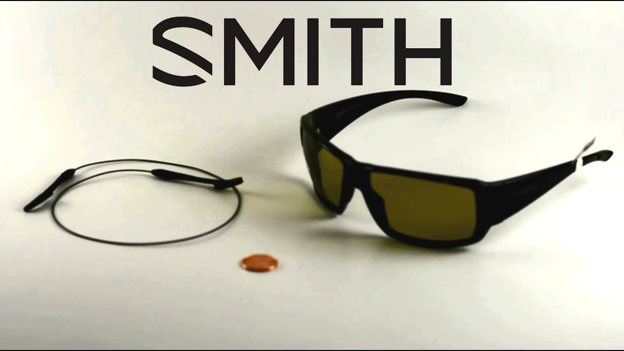 c47ebd32f3 Smith Integrated Sunglass Leash Installation. Duranglers Flies and Supplies