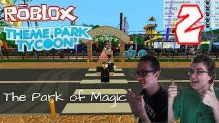 Roblox: Theme Park Tycoon 2 n. 2 - (il Parco della magia Parque do SenhorXiles)