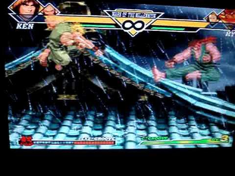 Capcom vs SNK 2 Dhalsim/Ken/Chang vs Dhalsim/Ryu/Benimaru
